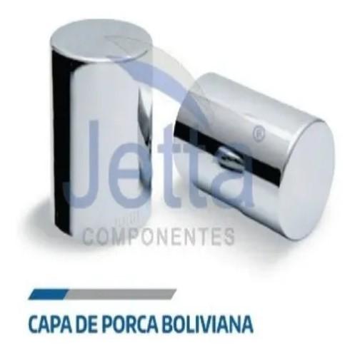 Capa Tampa Parafusos Roda Cromada Boliviana Jetta 32 Ou 33 Mm