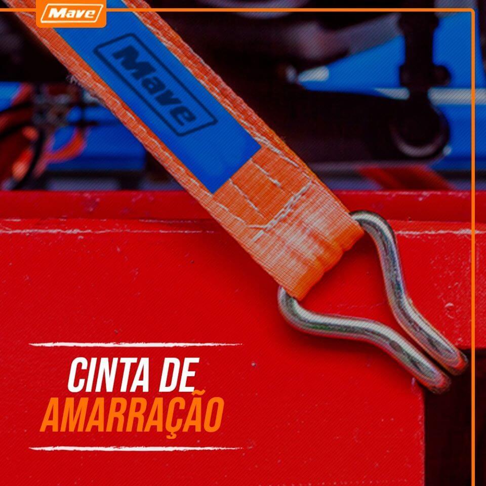 Cinta Catraca Amarração Transporte De Carga 9m 3000kg 50mm