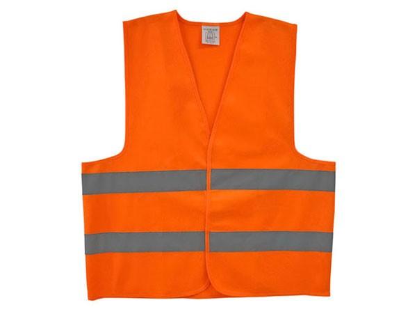 Colete Segurança Refletivo Laranja Ou Amarelo Fluorescente