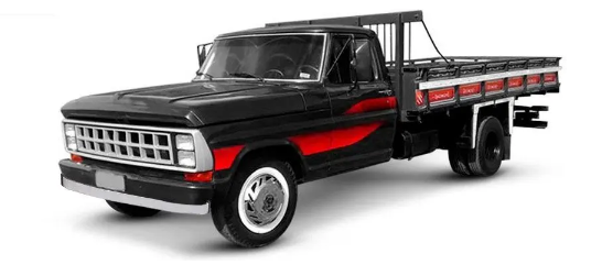 Farol Duplo Ford F1000 F4000 Ano 1985 a 1991 Lado Esquerdo