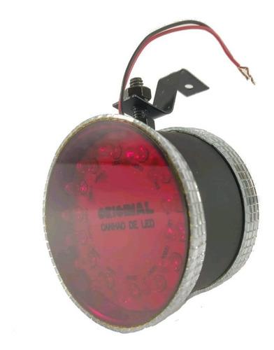 Lanterna Corujinha Para Caminhão Luz De Led