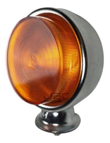 Lanterna Foguinho Redonda Maria Cromado Amarelo Ou Vermelho