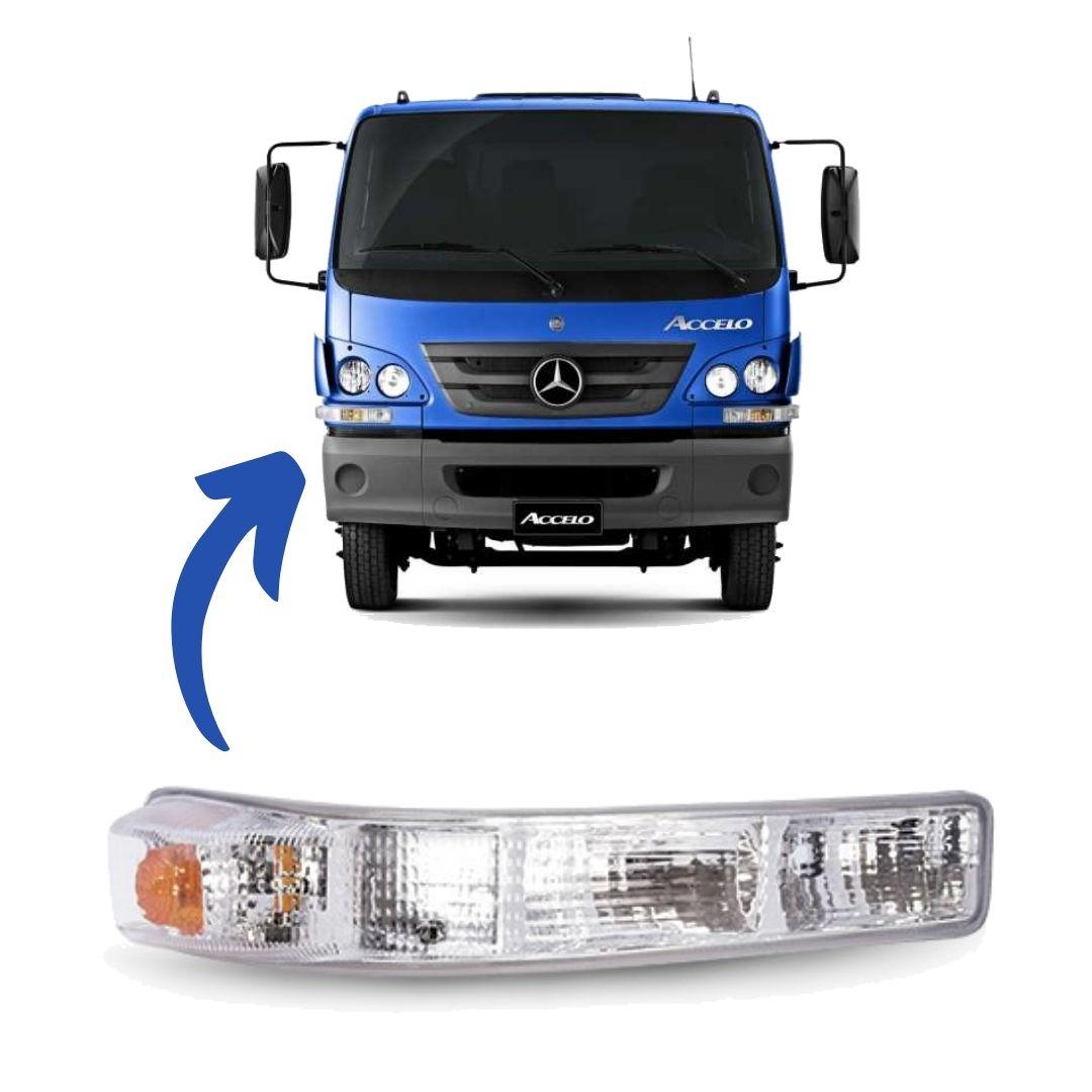 Lanterna Sinaleira Seta Frontal Caminhão Mercedes Benz Accelo Lado Direito