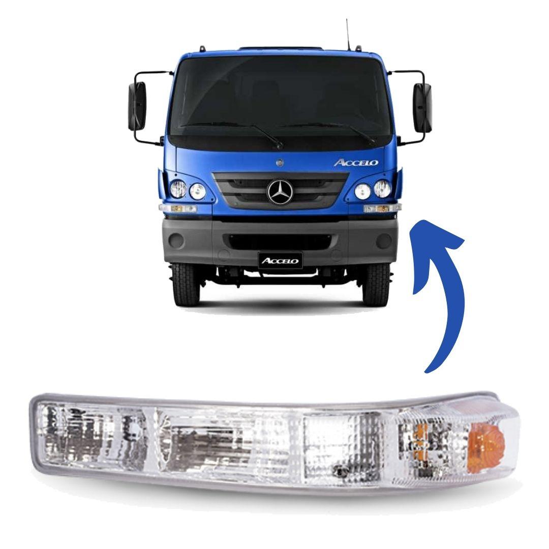 Lanterna Sinaleira Seta Frontal Caminhão Mercedes Benz Accelo Lado Esquerdo