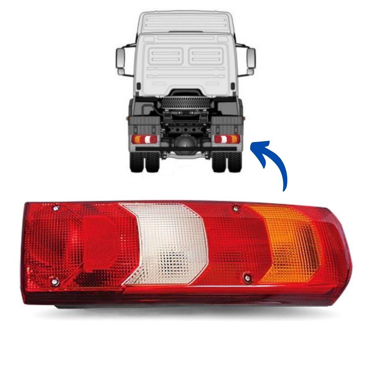 Lanterna Traseira Direita Caminhão Mercedes Benz Actros Accelo Atego Axor