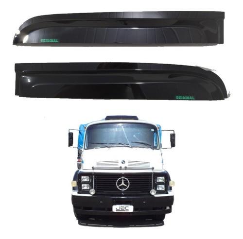 Par Calha Chuva Caminhão Mercedes 1113 1114 1313 1518 2013