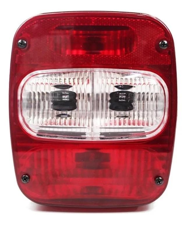 Par Lanterna Traseira Marmitão Caminhão Vw Ford Mb