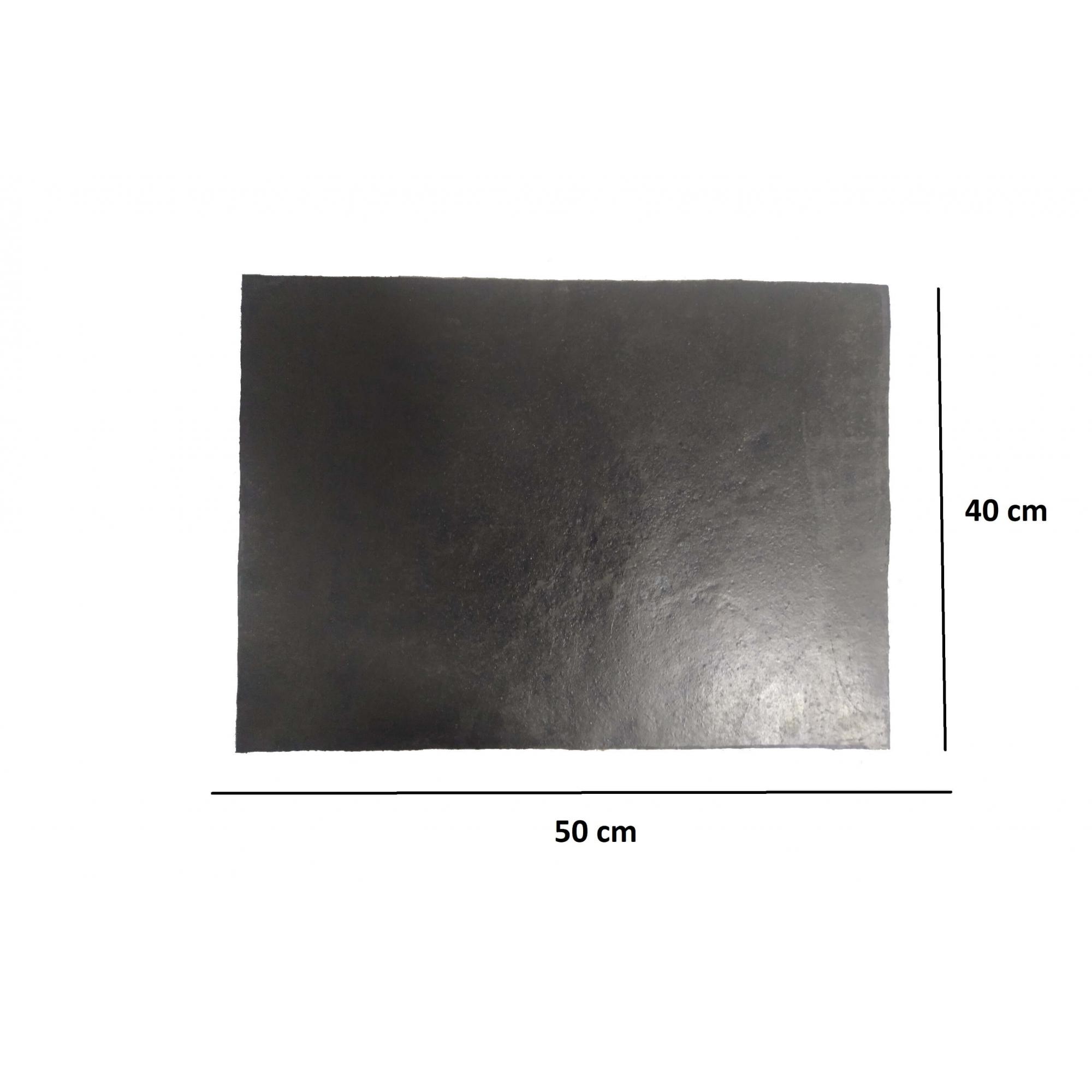 Parabarro Borracha Preto Liso 40 X 50 Cm Lameiro