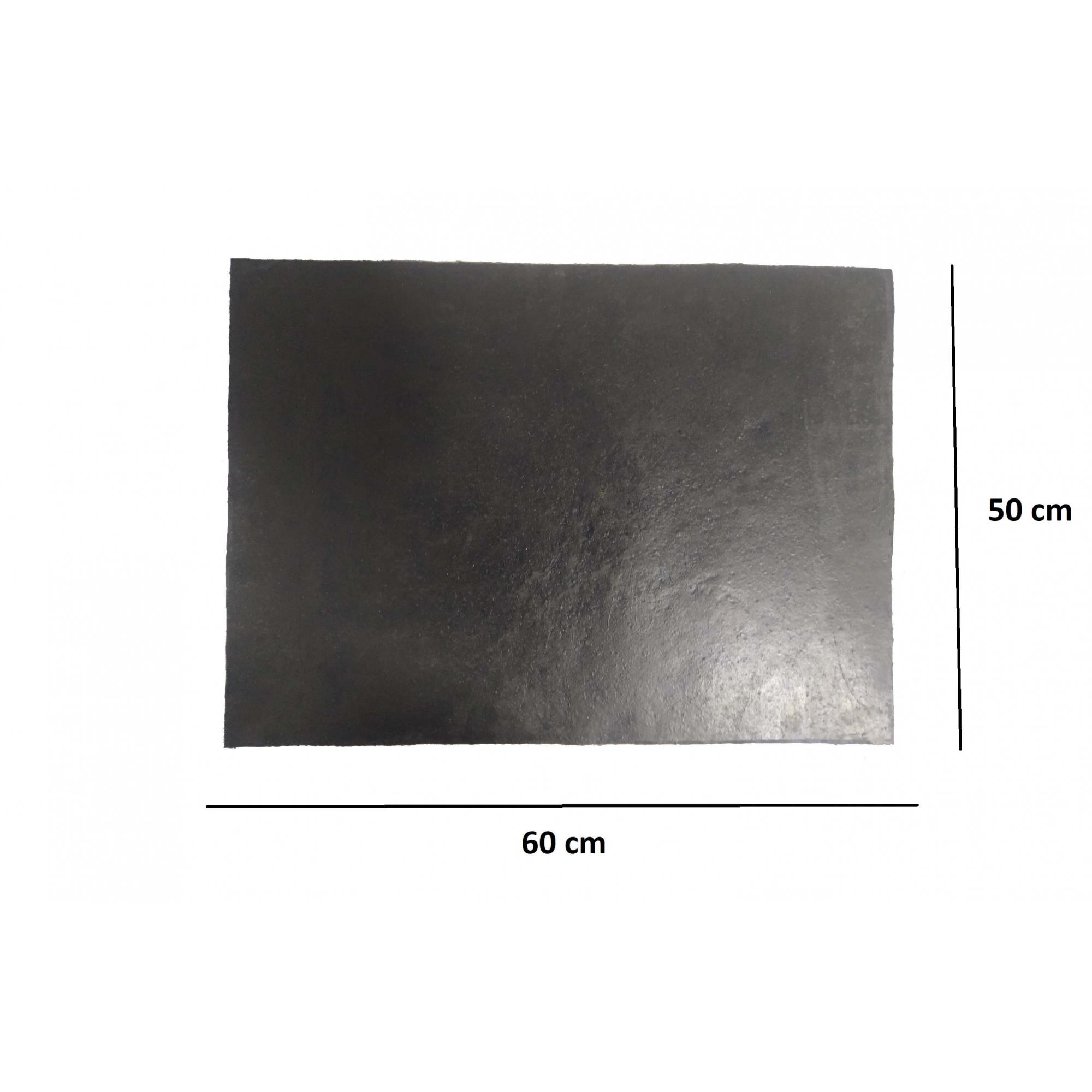 Parabarro Borracha Preto Liso 60 X 50 Cm Lameiro