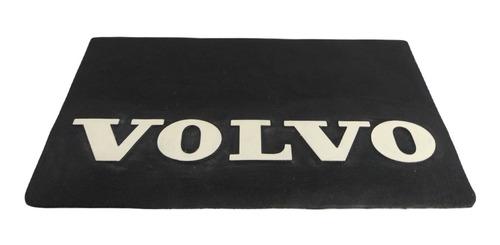 Parabarro Borracha Volvo 64 X 32 Cm Traseiro Lameiro