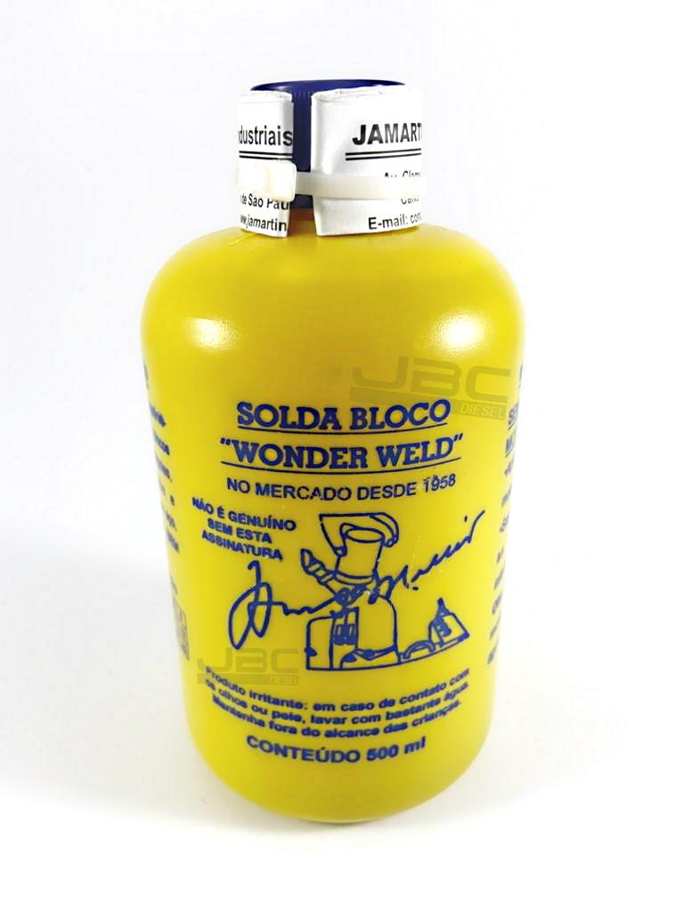 Solda Bloco Wonder Weld 500ml Refrigerado a Água