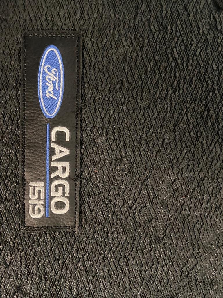 Tapete Caminhão Ford Cargo 1519 Cabine Moderna Borracha PVC