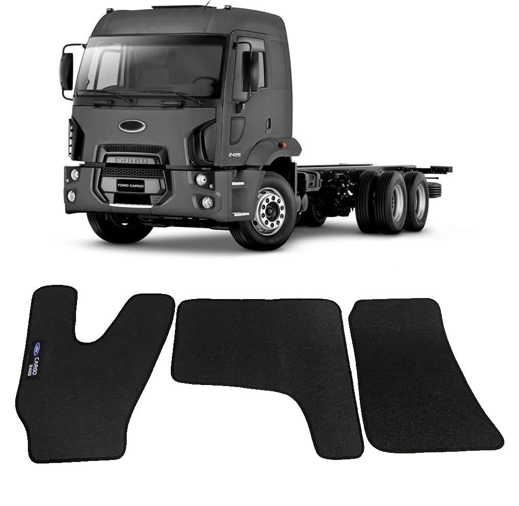 Tapete Caminhão Ford Cargo 2428 Borracha PVC
