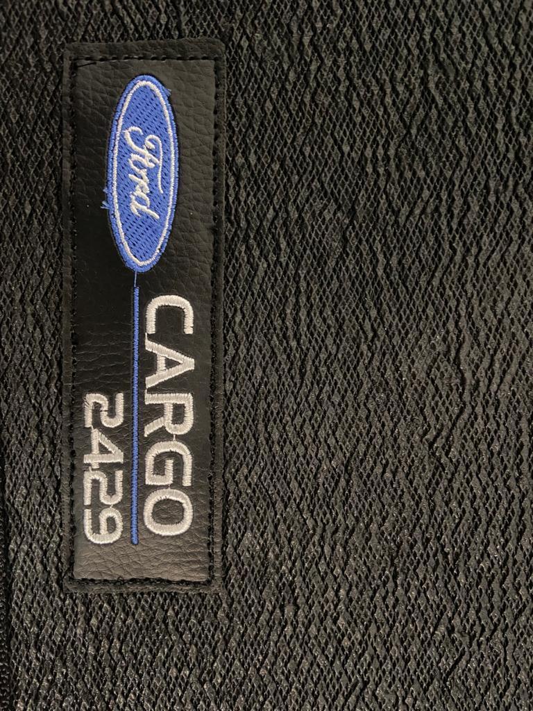 Tapete Caminhão Ford Cargo 2429 Cabine Moderna Borracha PVC