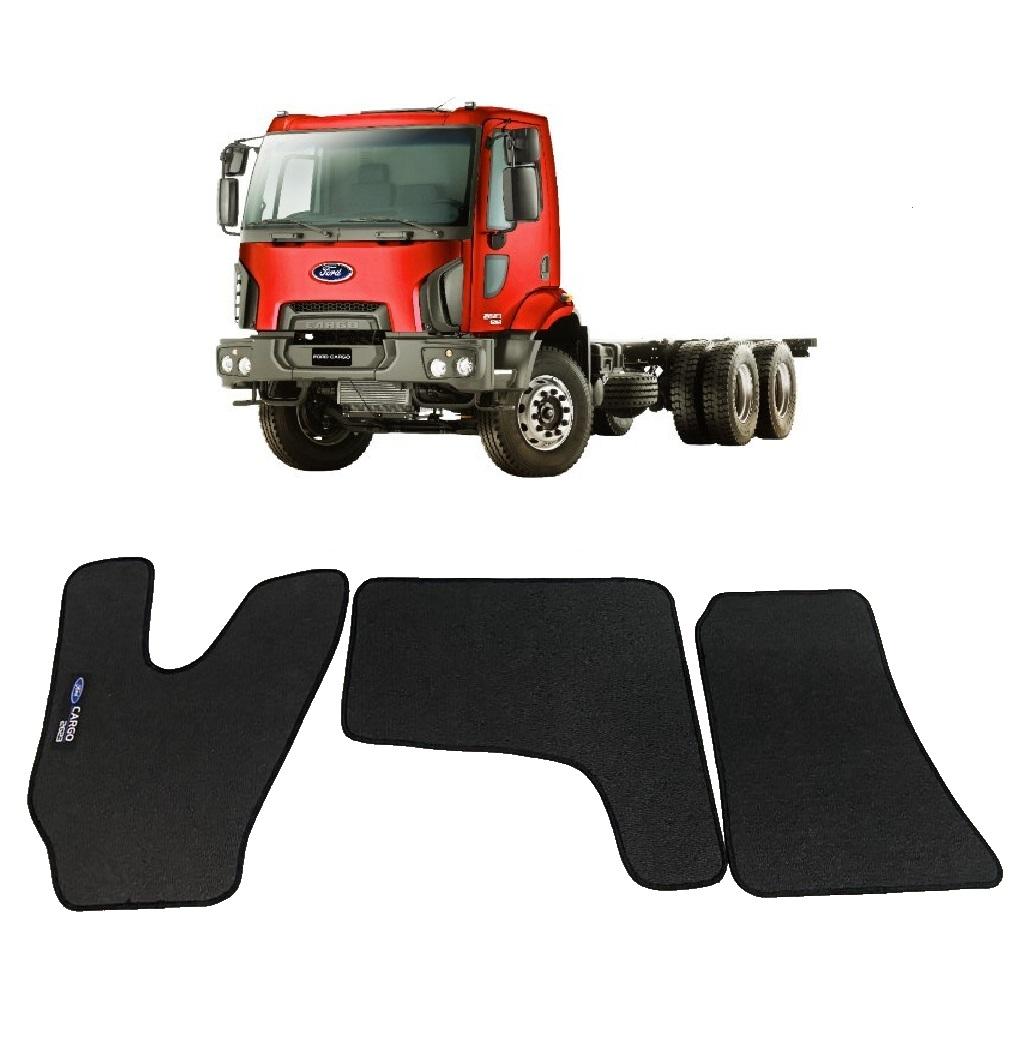 Tapete Caminhão Ford Cargo 2623 Cabine Moderna Borracha PVC