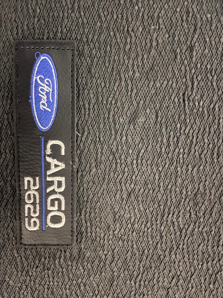 Tapete Caminhão Ford Cargo 2629 Cabine Moderna Borracha PVC