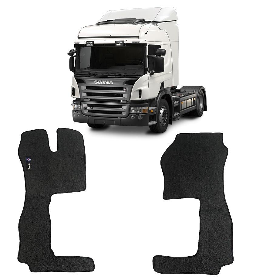 Tapete Caminhão Scania 124 Cabine P Carpete Borracha PVC