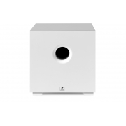 """AAT Compact Cube 10 Subwoofer ativo 10"""" com 240W RMS Branco"""