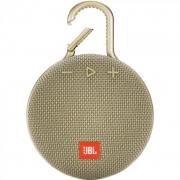 Alto-falante Jbl Clip 3 Portátil Com Bluetooth Areia