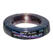 Bobina Cabo Speaker New Audio Cristal 2x1,5mm - 100m