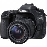 Canon EOS 80D Camera com lente 18 x 55 mm