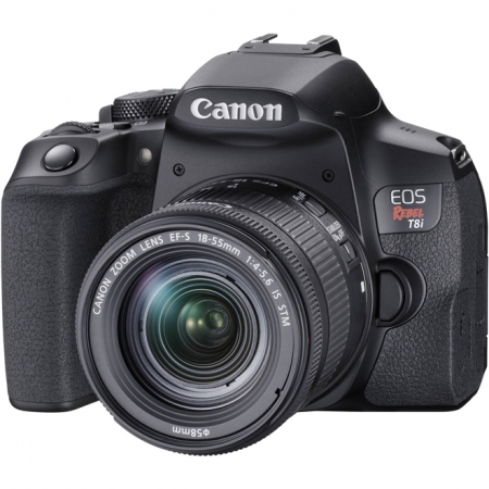 Canon Eos Rebel T8i 18-55mm Is Stm Kit Dslr