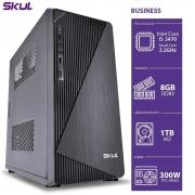 COMPUTADOR BUSINESS B500 - I5 3470 3.2GHZ 3ªGER MEM 8GB DDR3 HD 1TB HDMI/VGA FONTE 300W