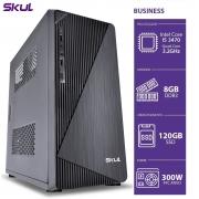 COMPUTADOR BUSINESS B500 - I5 3470 3.2GHZ 3ªGER MEM 8GB DDR3 SSD 120GB HDMI/VGA FONTE 300W