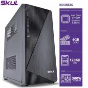 COMPUTADOR BUSINESS B500 - I5 4570 3.2GHZ 4GB DDR3 SSD 120GB HDMI/VGA FONTE 300W