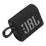 JBL Go 3 Caixa de Som Portátil Com Bluetooth Black
