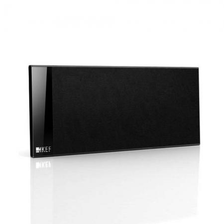 KEF T101C - Caixa Acustica Central Slim de 100W Preta