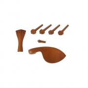 Kit Coracao P/violino 4/4 Boxwood 7 Pecas C/pino Preto Dominante Orchestral