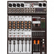 Mesa de Som 8 Canais USB SX802FX Preta SOUNDCRAFT