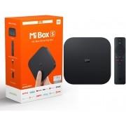 Mi Box s M19E Receptor FTA Android 8.1 4K Wifi Bivolt Preto