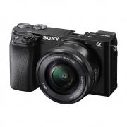 Sony Alpha 6100 kit Camera Digital Mirroless com Lente 16-50mm Oss