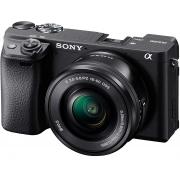 Sony Alpha 6400 Kit Camera Digital Mirroless com Lente 16-50mm Oss
