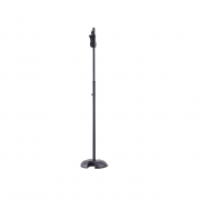Suporte Pedestal C/base Redonda P/ Microfone Ms201b Hercules