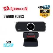 Webcam Redragon Streaming Fobos Hd 720p - Gw600