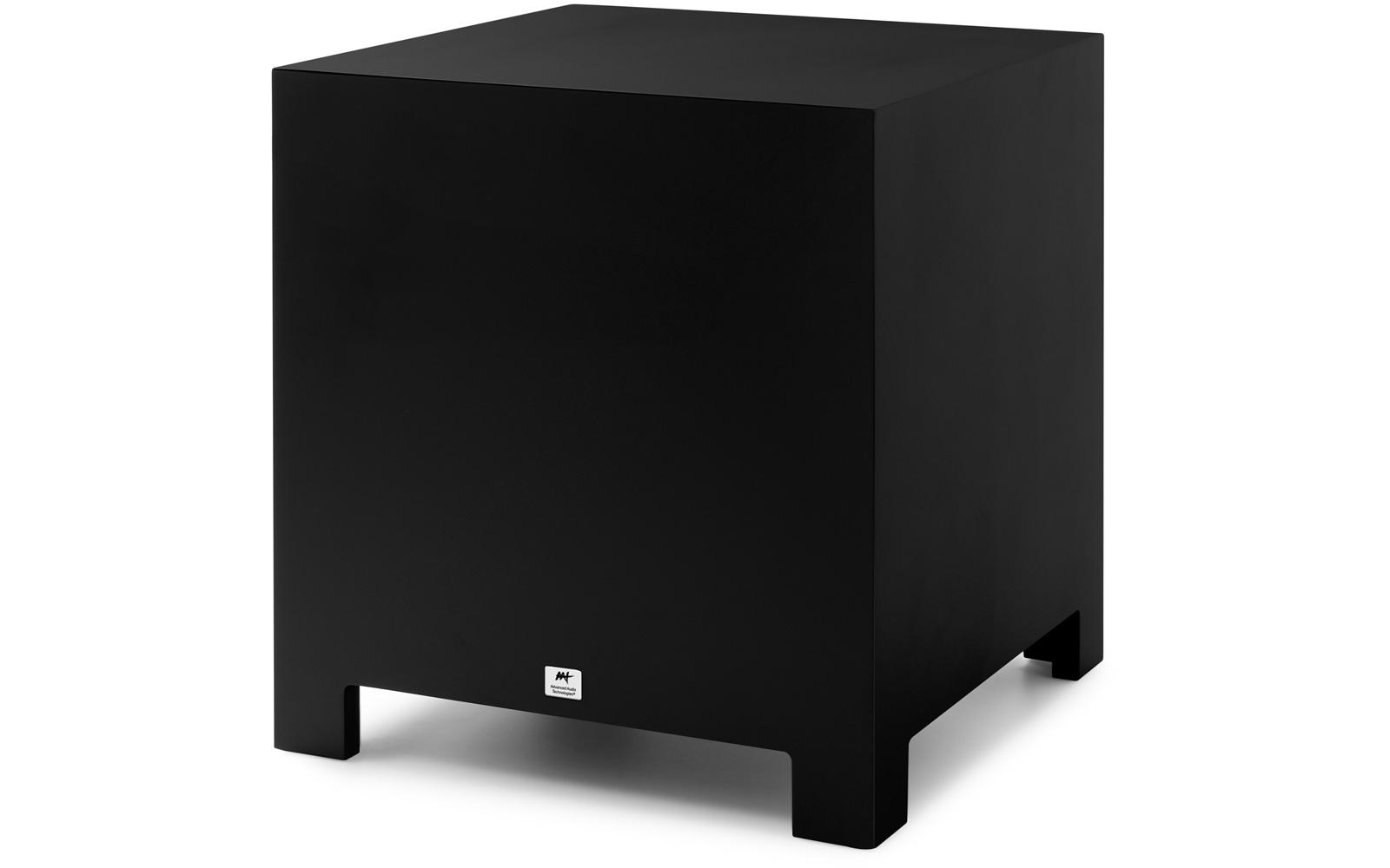 AAT Cube Rakt 10 - Subwoofer 10 pol. 500W rms - Preto  - Audio Video & cia