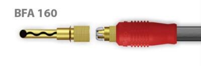 Absolute BFA-160 Plug banana (Par)  - Audio Video & cia