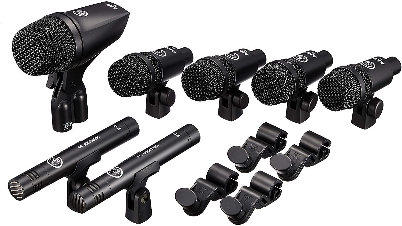 AKG Drum Set Session 1 - Kit de Microfone para Bateria  - Audio Video & cia