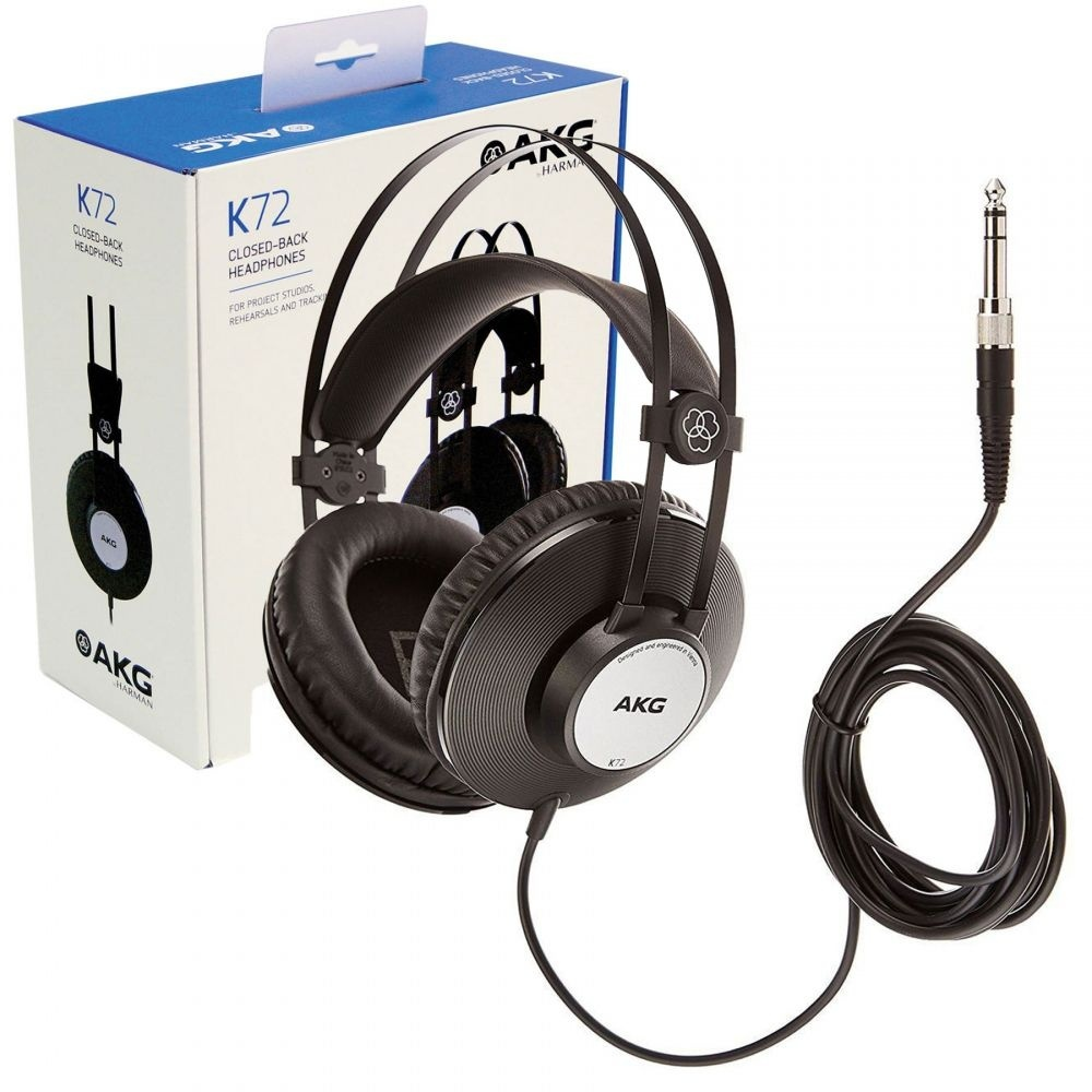 AKG K72 - Fone de Ouvido  - Audio Video & cia