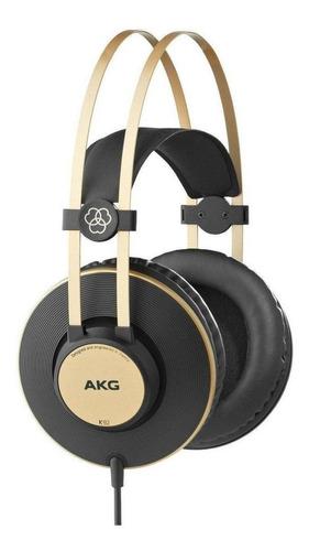 Akg K92 Fone De Ouvido Matte Black  - Audio Video & cia