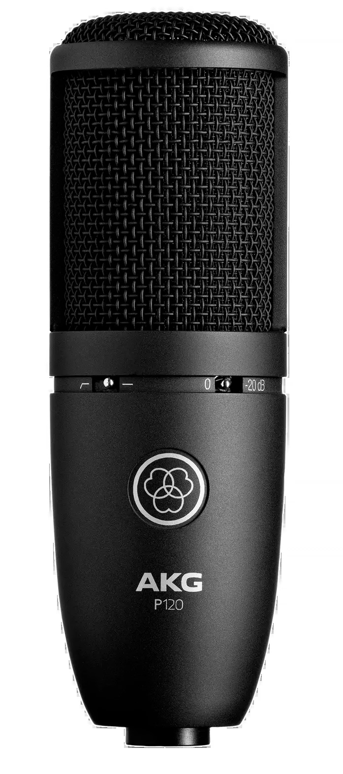 Akg P120 Microfone Cardióide para Studio  - Audio Video & cia