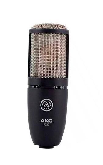 Akg P220 Microfone Cardióide para Studio  - Audio Video & cia