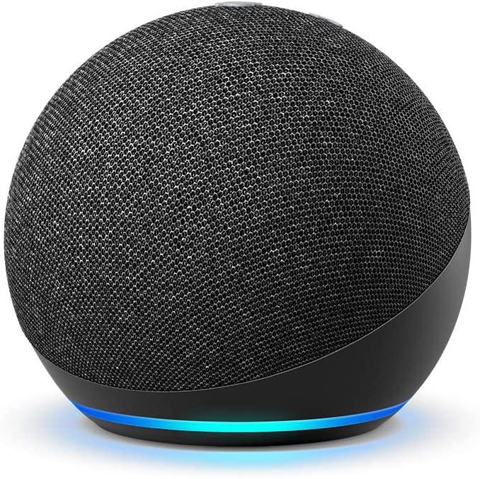 Alexa Echo Dot 4 Preta  - Audio Video & cia