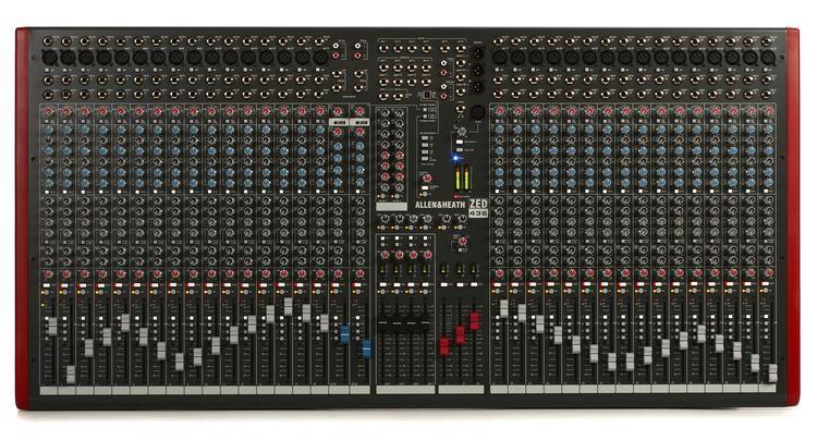 Allen Heath Zed 436 Mesa de Som de 36 canais  - Audio Video & cia