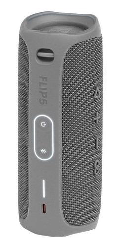 Alto-falante Jbl Flip 5 Portátil Com Bluetooth Grey  - Audio Video & cia