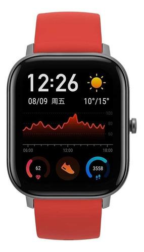 Amazfit Gts a1914 Smartwatch 47mm Pulseira Laranja  - Audio Video & cia
