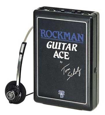 Amplificador Rockman Guitar Ace C/fone De Ouvido Ga Dunlop  - Audio Video & cia